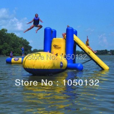 7*3m inflatable water catapult blob for water park (only blob)