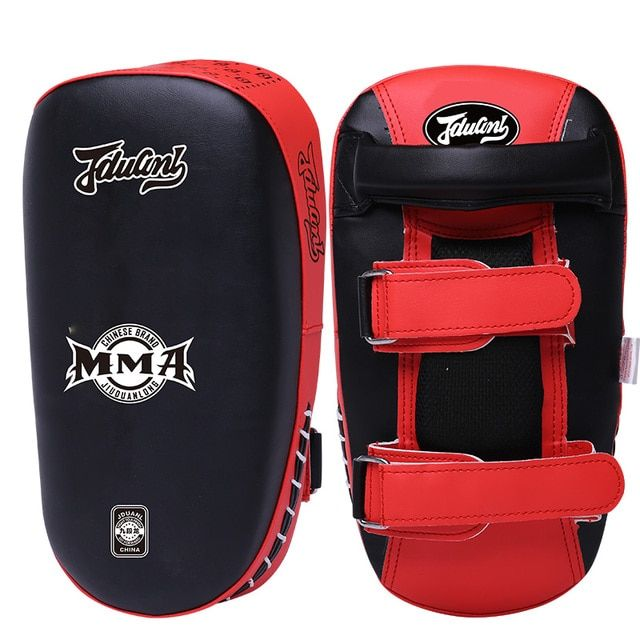 Muay Thai Kick Boxing Pads Curve Pad MMA Punch Focus Luva Boxeo PU Foot Target Taekwondo Fight Training Equipment Good Quality