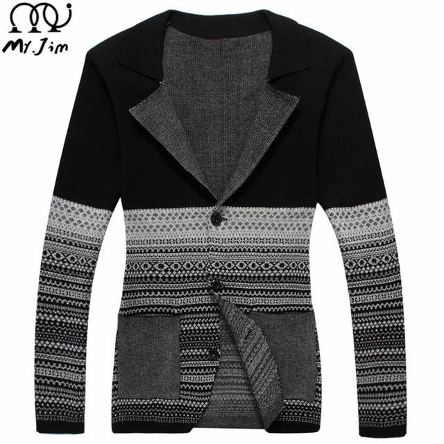 2016 Fashion Autumn Men Sweaters Male V neck Winter Cardigan Men Knitwear Sweater Slim Casual Sweater Brand Cardigan Masculino