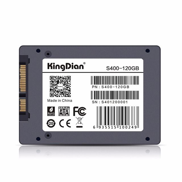 (S400 120GB) KingDian Cheap S400 Solid State Drive HD HDD 2.5 SATA III Internal Style SSD Hard Disk Disc 120GB