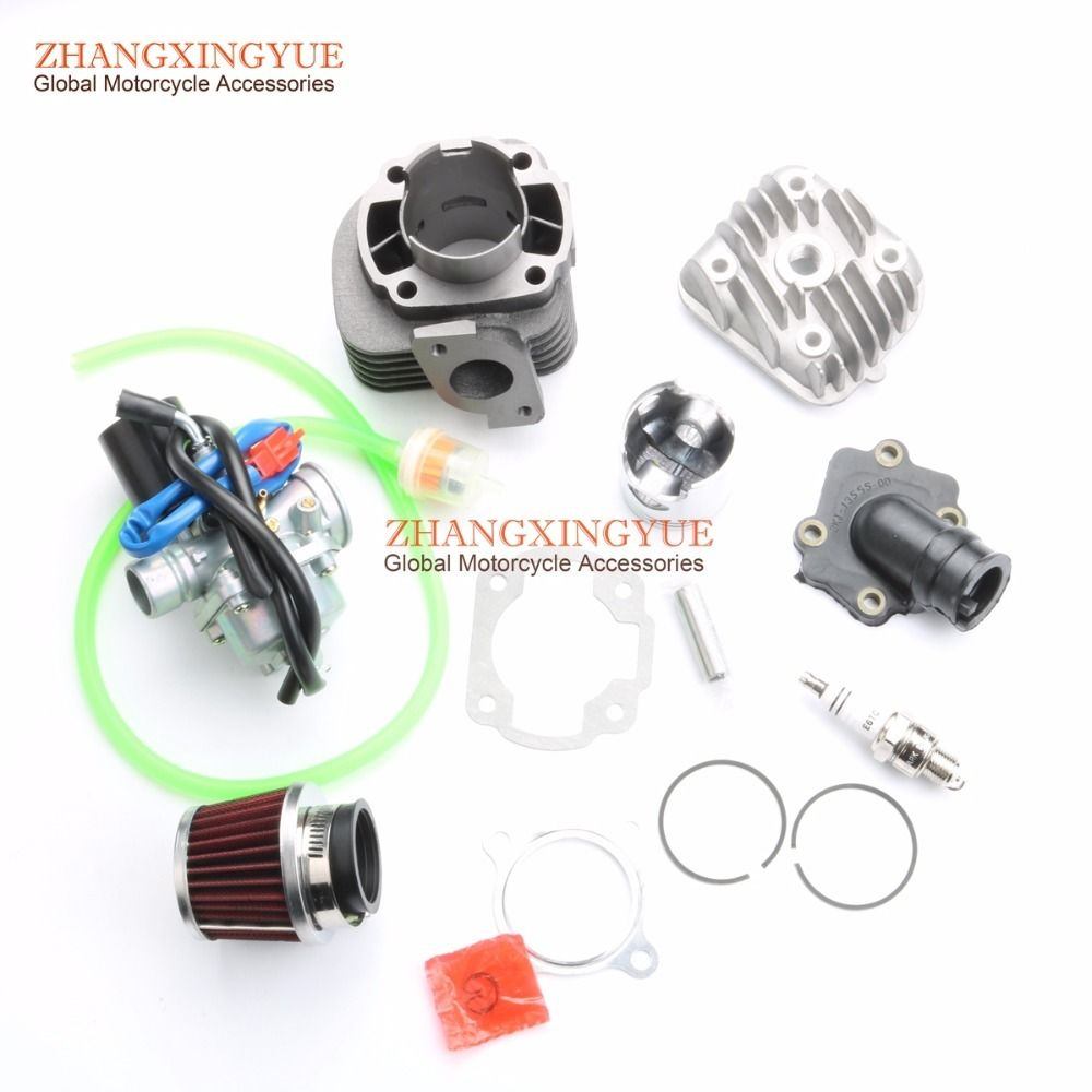 70cc Two Stroke Big Bore Kit with for Minarelli 1E40QMB JOG 50 47mm /12mm