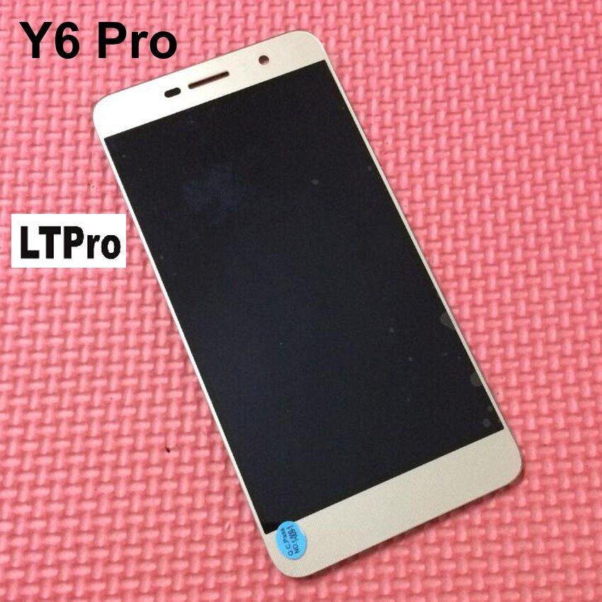 LTPro TOP Quality NEW LCD DIsplay + Touch Screen Digitizer Assembly For Huawei Y6 Pro Y6Pro / G Power Phone parts Replacement
