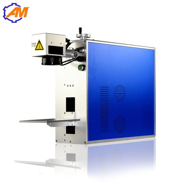 Best Sale Laser IPG / Raycus Fiber Laser Marking Machine Price With Stainless Stell,Sliver, Plastic, Glass