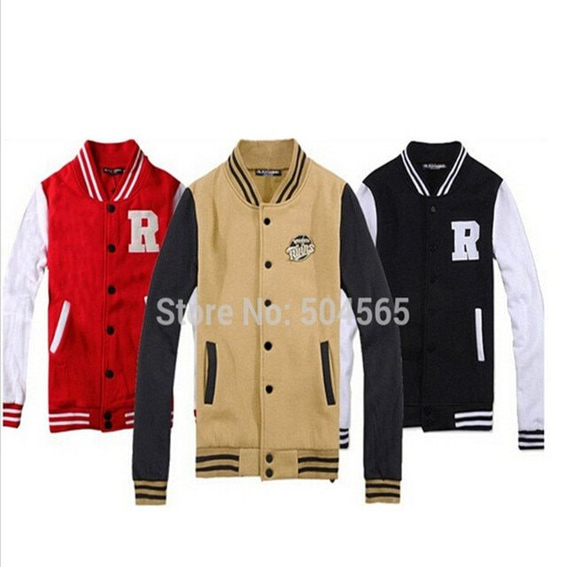2016 New Sweatshirt Women Suit For Unisex Fashion Letters Printed Hoodies Men Baseball Outerwear Coat S-XXL CO-035
