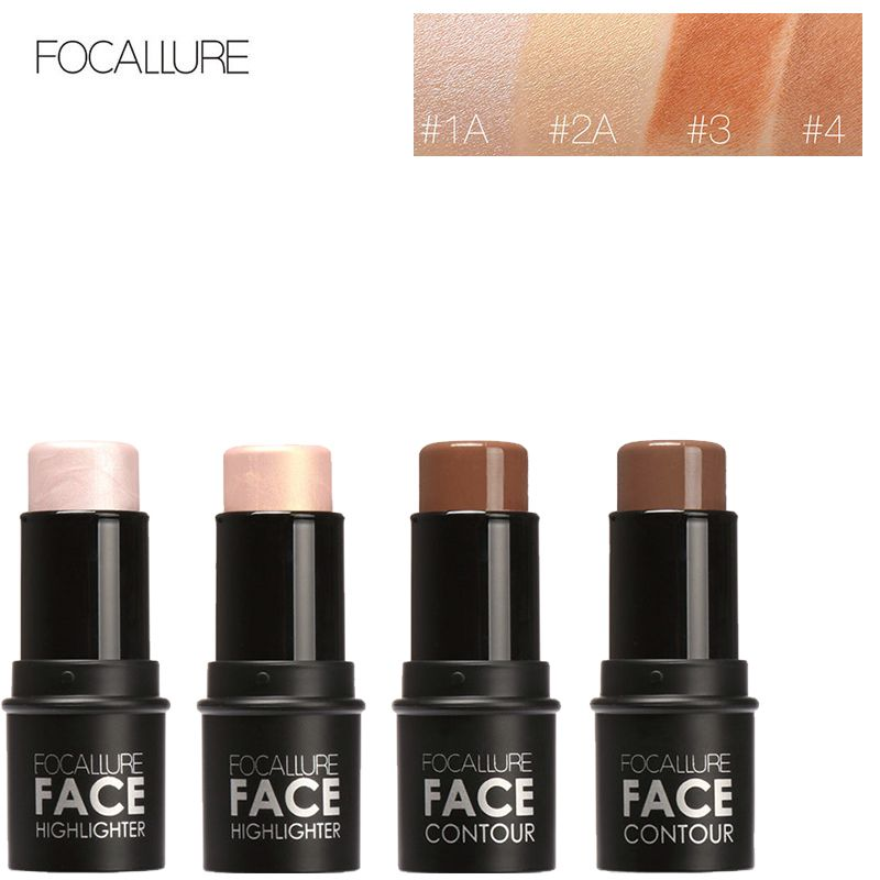 Face Concealer Palette Makeup Concealer Highlighter Stick Pen Professional Contour Concealer Brightening Makeup Cosmetics Tool