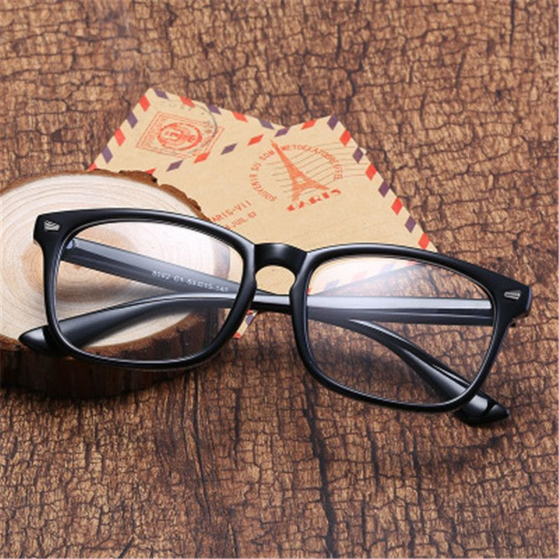 Fashion black Square For Women Transparent Glasses Spectacle Frames Mens Computer Eyeglasses Male glass Goggles Female eyeglass