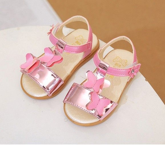 2017 baby kids girl cute lovey sandals summer shoes toddler walker toddler soft hoe butterfly baby girl sandals shoes footwear