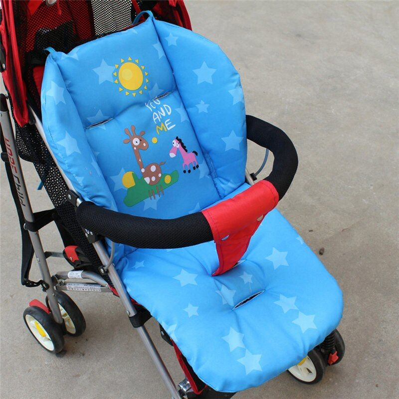 Baby Winter Stroller Seat Stroller Cushion Cart Seat Cushion Mat Pushchair Mat Soft Thick Pram and Pushchairs Cushion BB Cushion