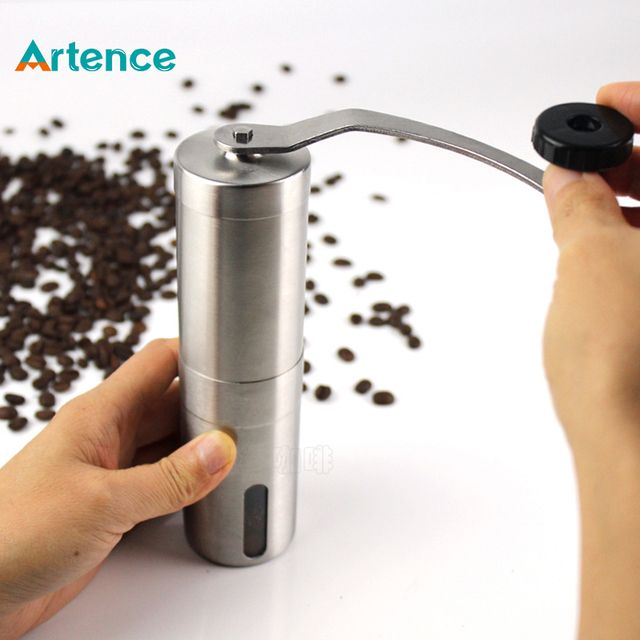 New Convenient Stainless Steel Manual Coffee Grinder Detachable Easy to Assemble Coffee Machine Portable Coffee Mill