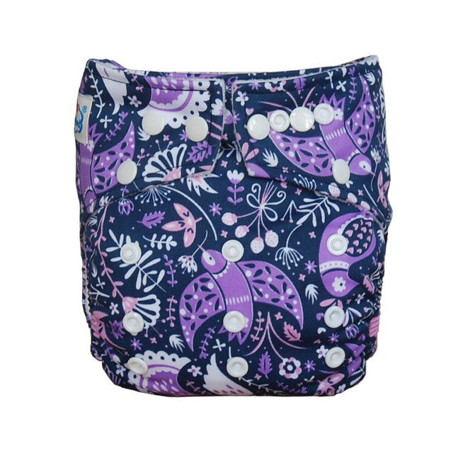 Free shipping Fast shipping One Dozen Newest Printings Babyland Washable My Choice Cloth Diapers