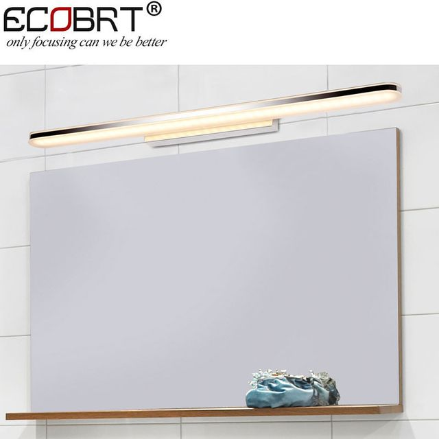 2017 hot sale new product 16W acrylic LED bathroom mirror light wall mounted lamp with CE & RoHS100-240v ac