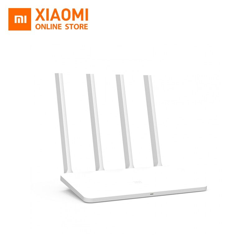 Original Xiaomi Mi Router 3 English Version 4 Antennas WiFi 1167Mbp 1167Mbps 802.11ac b/g/n WIFI Dual Band 2.4G/5G Supports APP