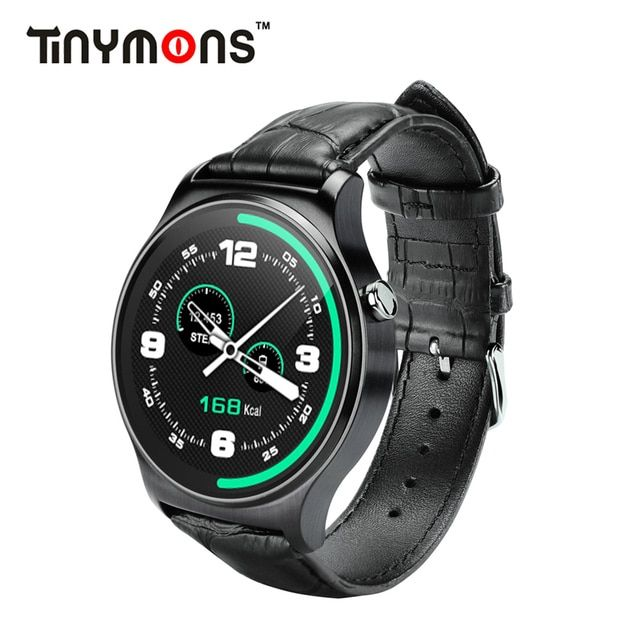 Newest Original Bluetooth 4.0 Smart Watch GW01 IPS Round Screen Life Waterproof Sports Wristband Watch For Android IOS Phones