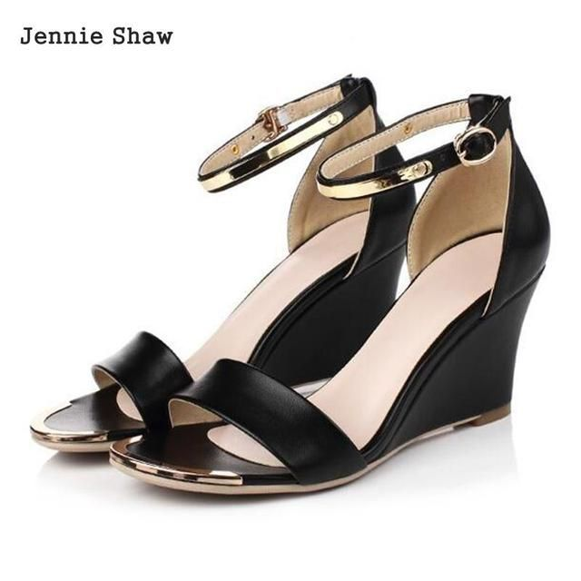 New Arrival Women's size 33 to 40 Wedges High Heels sandals
