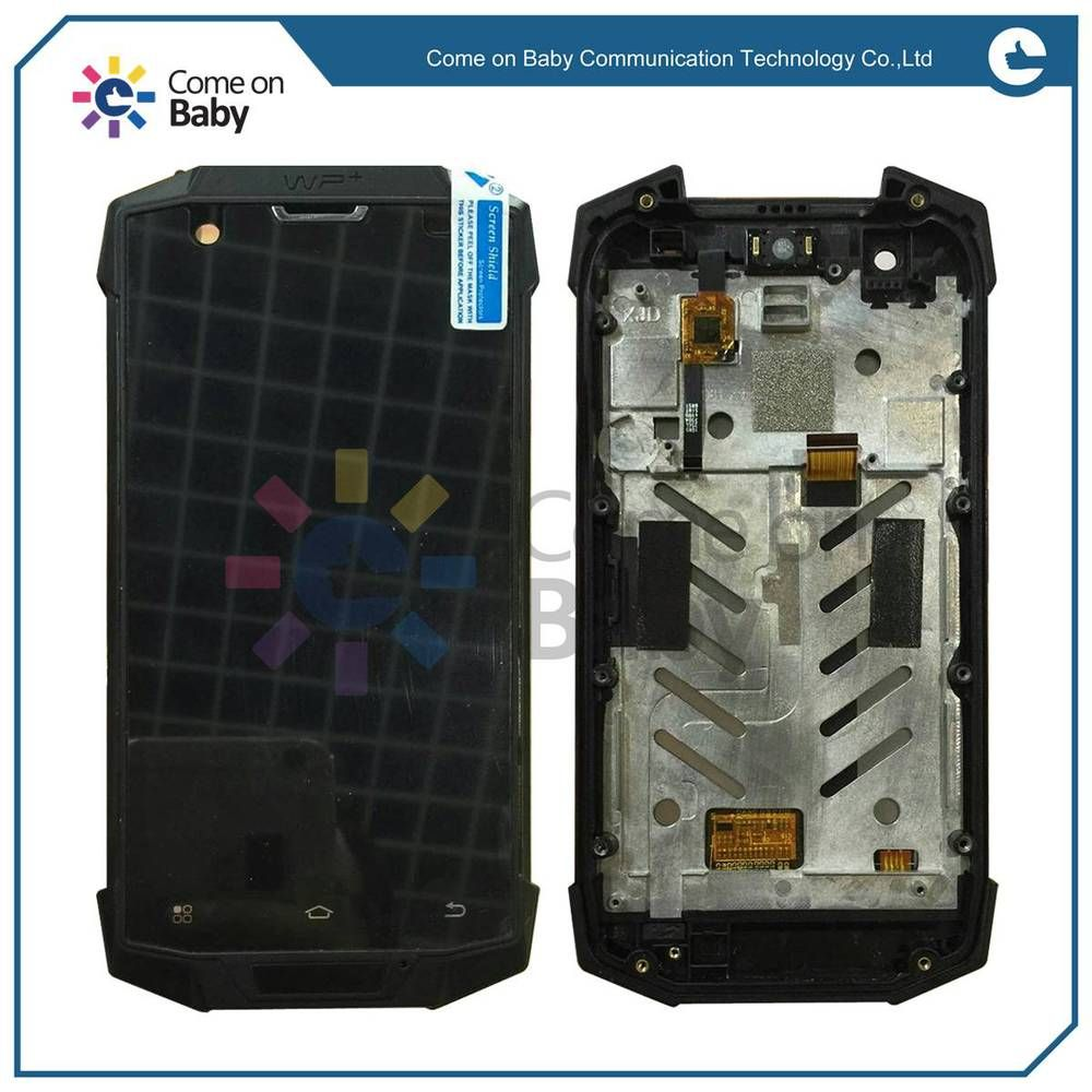 For Land Rover X9 LCD Display + touch screen digitizer Aseembly with Frame Replacement parts