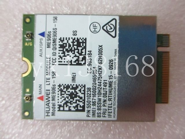 Unlocked ME906S  ME906S-158 LTE MODULE LTE NGFF mobile broadband wwan card for Lenovo Thinkpad YOGA 00JT491 01AX717