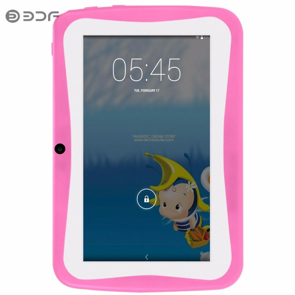 7 Inch Children's Tablet PC Education Android 4.4 512MB 8GB Quad core Nice Design Learning entertainment tablet  Pc