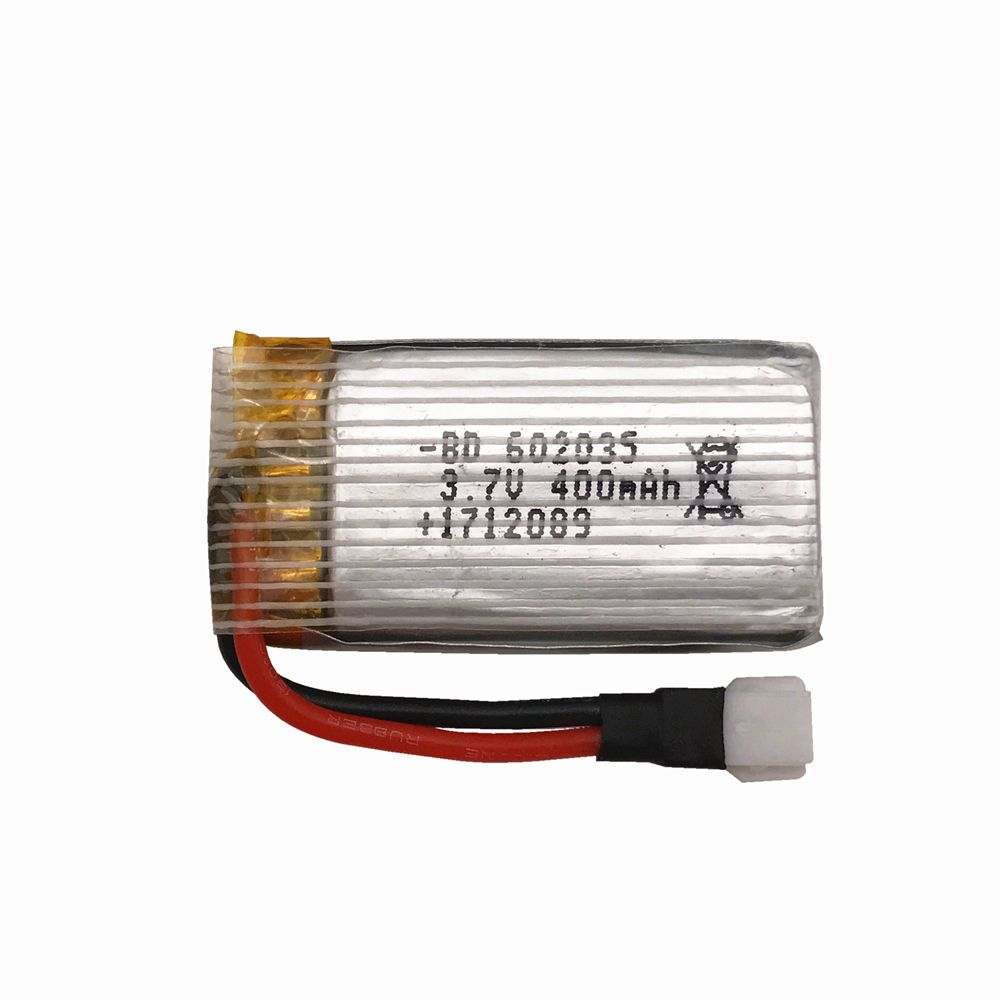 2pcs/lot Limskey Original Battery H31 Spare Parts 3.7V 400mah XH plug 30C Battery H31-011 Lipo battery 3.7 V 400 mah For H31