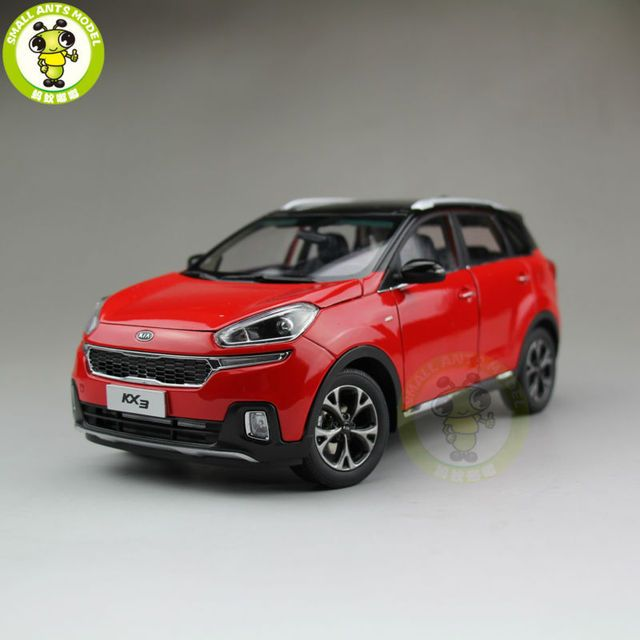 1/18 KIA KX3 Diecast car model SUV for collection gifts hobby Red