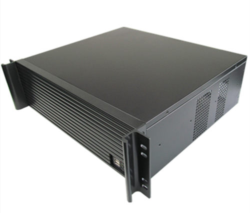 Computer server case 3U380mm ultra-short industrial  Chassis quality aluminum panel Support 19 rack