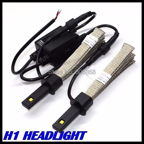 New Invention Car H11 H3 Headlight 40W 5000LM LED Headlamp H11 Led Car headlight lamp bulb 12V 24V auto parking led light H7