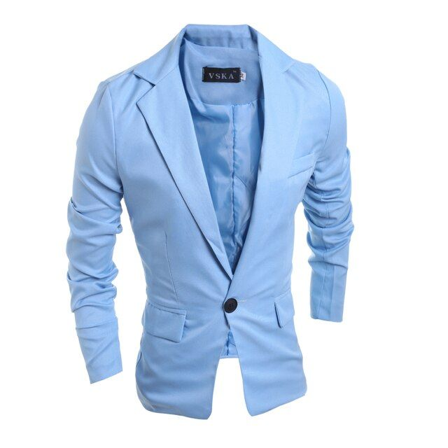 New Fashion 2016 Spring Autumn Casual Suits Men Slim Business Dress Suits Jacket 4 Solid Color Plus SIze Male Men Tops Clothing