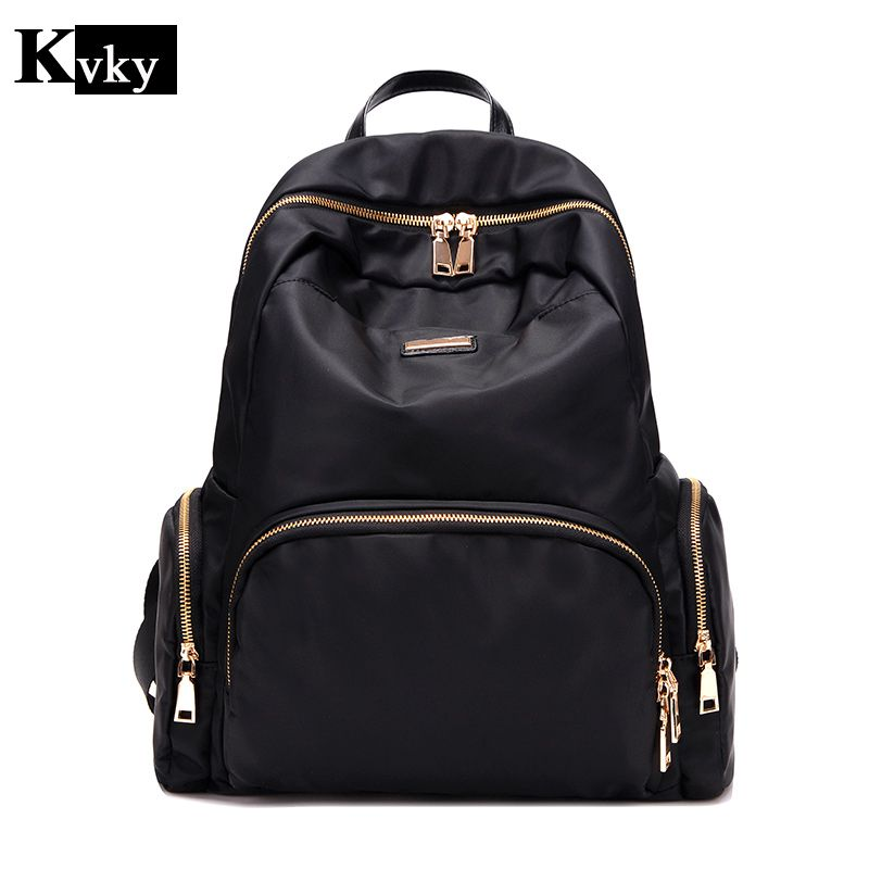 2017 Fashion Women waterproof oxford backpack Famous Designers Brand shoulder bag  leisure backpack for girl and college Student