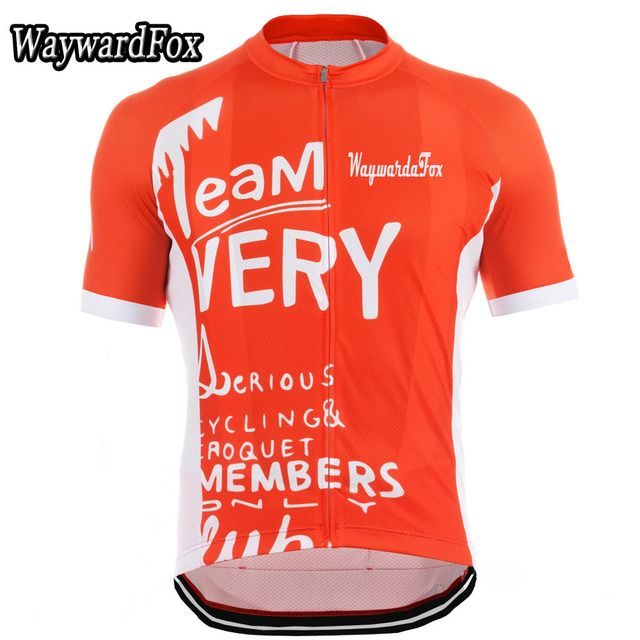 NEW Cycling Jersey Short Sleeve Cycling Clothing Bicycle Team Very Serious Cycling Wear 4 styles Arbitrary choice WaywardFox
