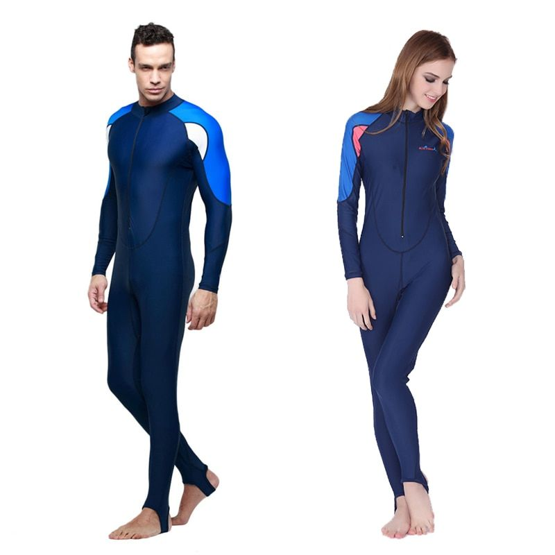 SBART Triathlon Scuba Diving Wetsuit For Women Mens Lycra Wetsuit Triathlon For Swimming Spearfishing Swim Suit Lycra Dive Suit