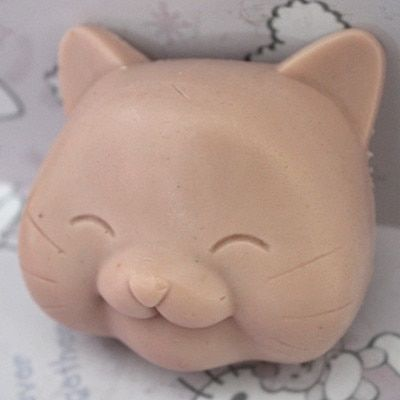 Lovely cat head shape Silicone soap mold fondant cake mold handmade clay resin craft mold DIY tool