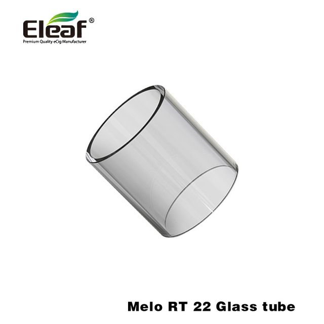 Original Eleaf Melo RT 22 Glass Tube for Melo RT 22 Atomizer Replacement Glass Tube 5pcs/lot