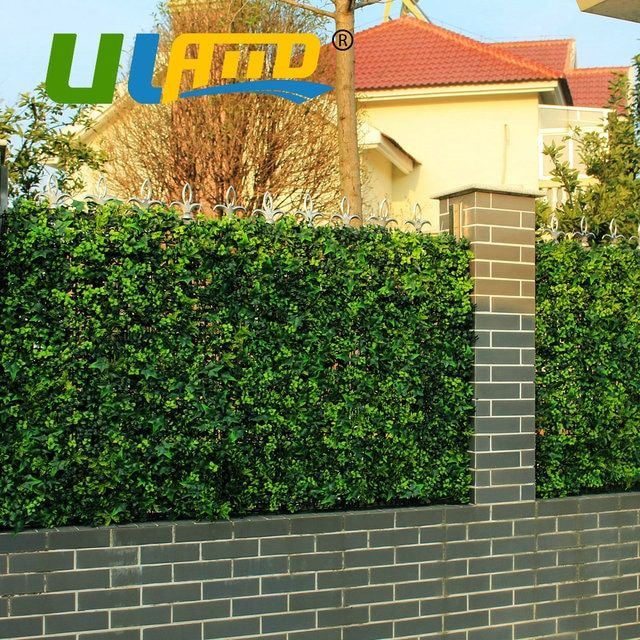 Uland 3 SQM Decorative Privacy Screens Artificial Greenery Leaves Fencing Boxwood Topiary Hedges Outdoor Garden Decoration