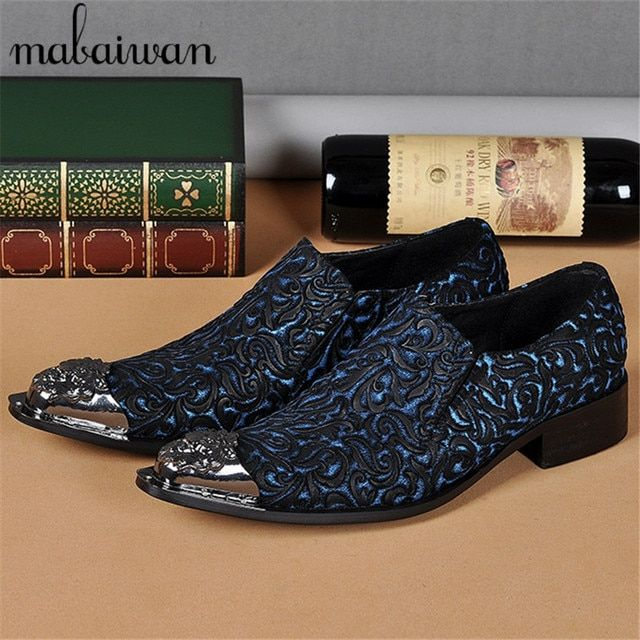 Fashion Flowers Carve Mens Genuine Leather Dress Shoes Design Elevator Wedding Shoes for Men Business Oxfords Sapatos Masculino