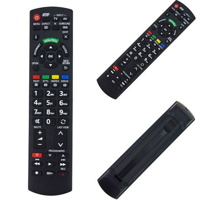 1Pc Replacement Remote Control Black Smart Remote Controller For Panasonic Viera TV N2QAYB000350 N2QAYB000572