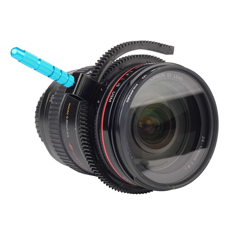 Metal Grip Follow Focus Gear Ring Focusing Belt for Canon Nikon Sony Camera Lens DSLR Rig Camcorder