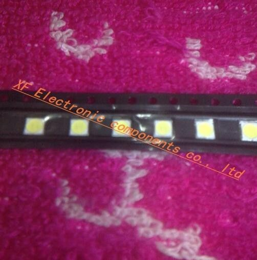 Free shipping 100pcs/lot LED Backlight High power LED 2W 6V 3535 Cool white LCD Backlight for TV TV Application LATWT391RZLZK