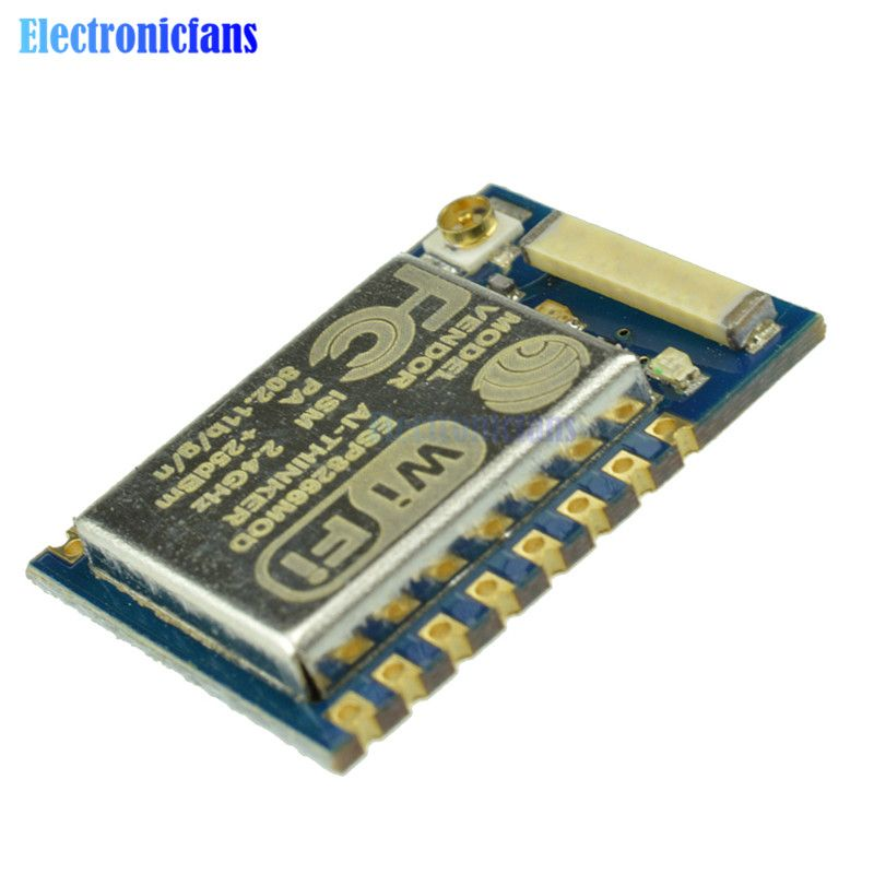 ESP8266 ESP07 ESP-07 WIFI Remote Model Serial Port Wireless Transceiver Module 2.4Ghz 3.3V For Arduino Uno Authenticity Guarante