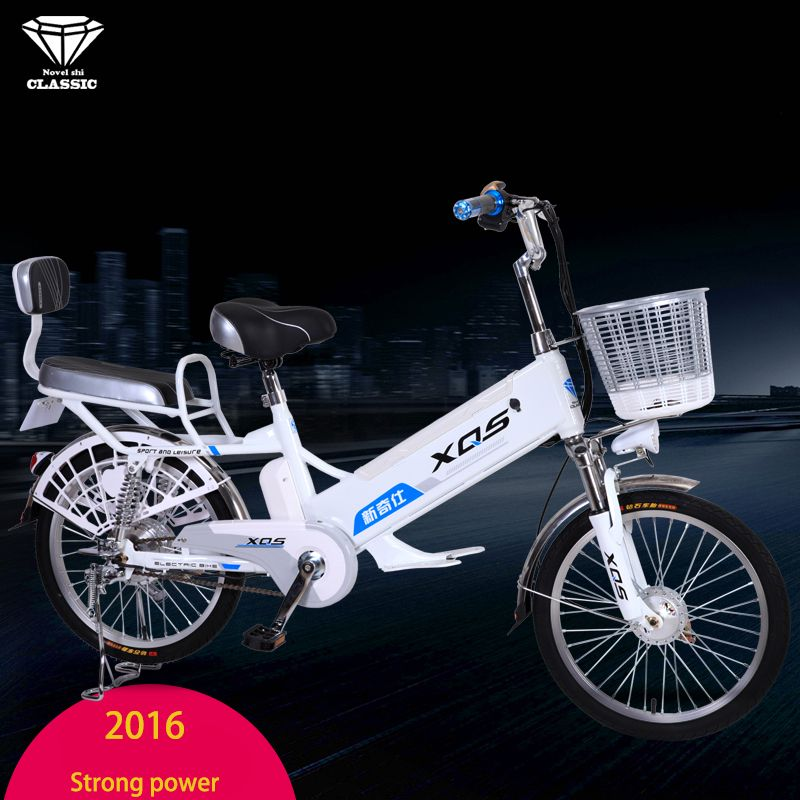 Electric bicycle 20/24-inch 60V removable lithium battery charging motorcycles electric bicycles