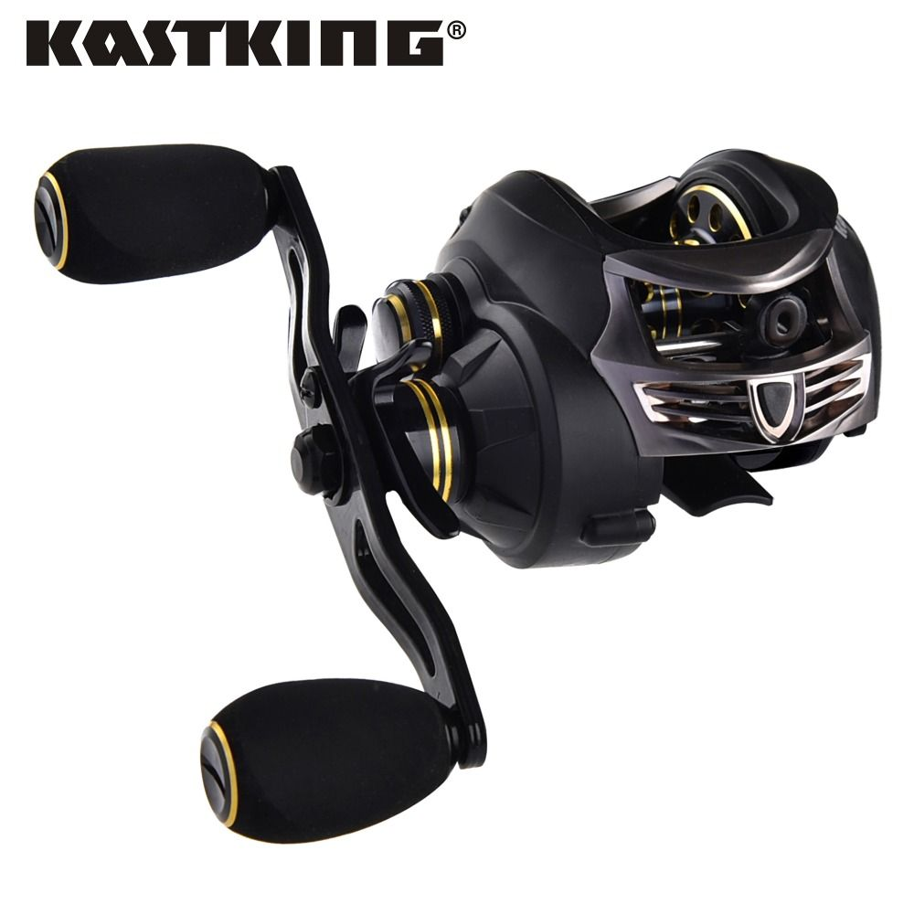 KastKing Stealth baitcasting reel 7.5KG Max Drag carp fishing gear Right Hand bait casting fishing reel carretilha para pesca