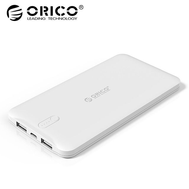 ORICO D5000 Power Bank 5000mAh Scharge Polymer Power Bank External Battery Universal Charger for Samsung Xiaomi Huawei