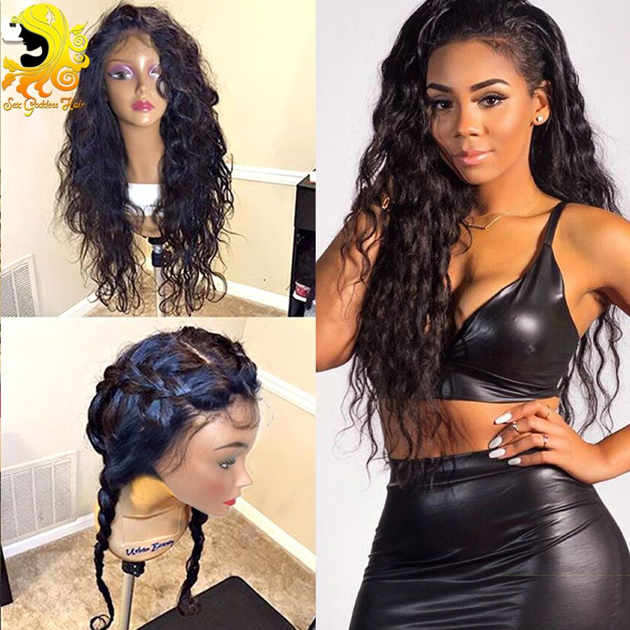 Brazilian Virgin Hair Lace Front Wigs Glueless Lace Front Human Hair Wigs Wet And Wavy Full Lace Human Hair Wigs For Black Women