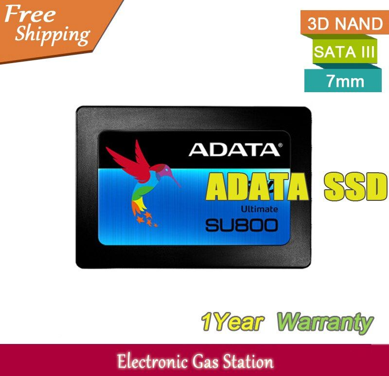 Original Brand Solid State Hard Drive ADATA 3D NAND SSD 128GB 256GB SATA III 2.5 inches 7mm For Server desktop Laptop