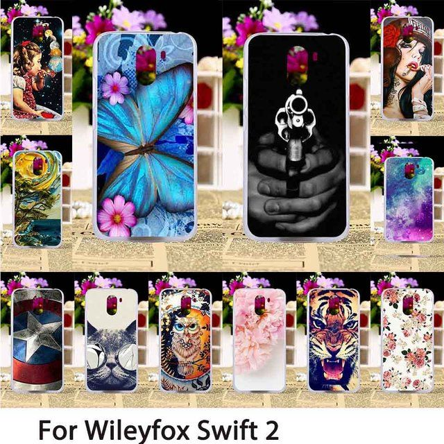 TAOYUNXI Smartphone Cases For Wileyfox X50 wileyfox Swift 2 Swift2 Plus 5.0 inch Mobile Case Back Covers Skin Bags Shell