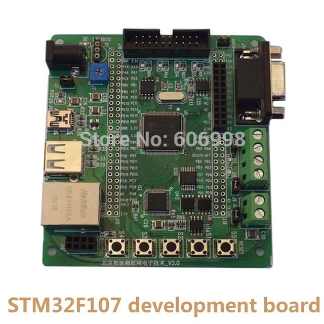 2pcs/Lot STM32F107 STM32F107VCT6 Development Board Ethernet RC522 IOF Multiple Interfaces High Stability