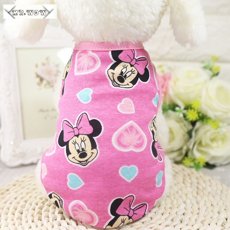 New Puppy Dog Vest Shirts Pet Dog Clothes Hoodies Coats Funny Costumes Summer Clothing for Small  Dogs