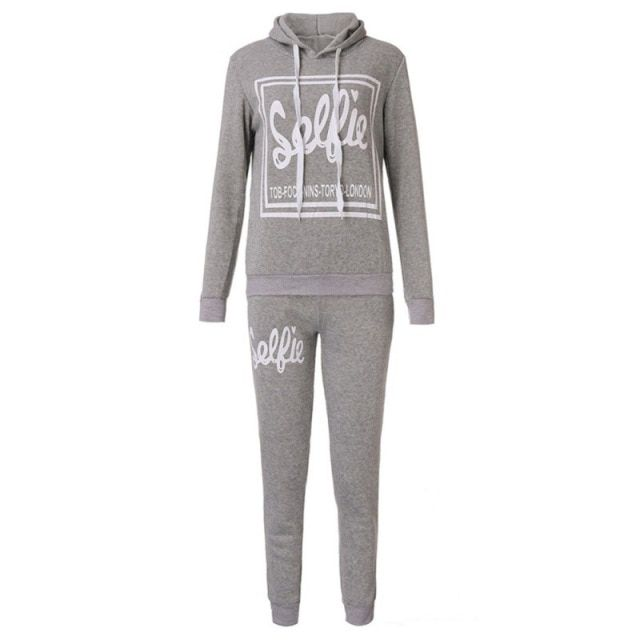 Women Suit Casual Sweatshirt Track & Sweat Tracksuit Long Sleeve Hoodie Playsuits