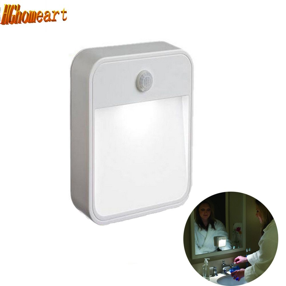 Lights with motion sensor Wall LED Night Light lamp battery powered wireless wall lamp bedside led 12v light night toilet light