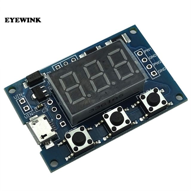 EYEWINK 2 PWM pulse frequency adjustable duty cycle square wave rectangular wave signal generator module, stepper motor driver