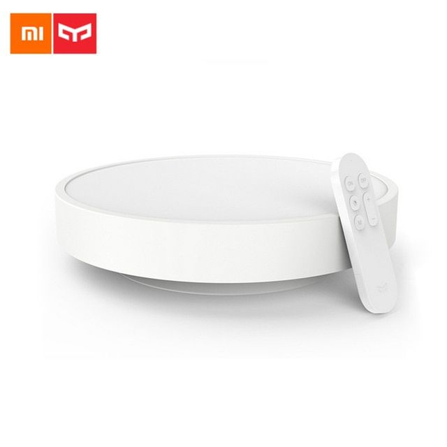 2017 Original Xiaomi Yeelight Colorful Moon Shape Led Ceiling Light Lamp Smart APP Bluetooth WiFi Double Control IP60 Dustproof