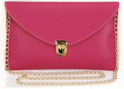 Womens Envelope Clutch Chain Purse Lady Handbag Tote Shoulder Hand Bag  BAOK-6114